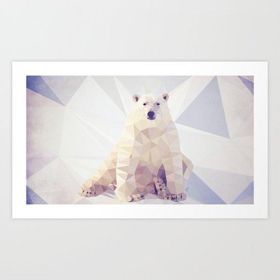 Lazy Bear Art Print