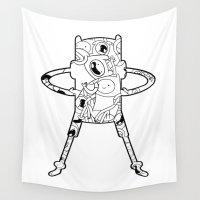 finn Wall Tapestries featuring Finn  by 8BOMB