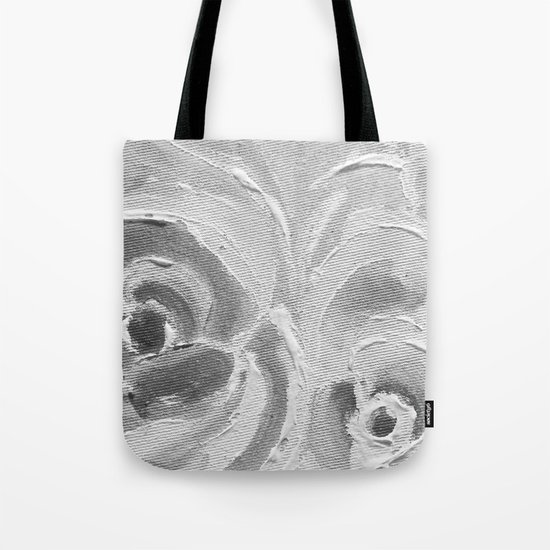 Find the Peach Plum Roses In the Night Tote Bag