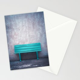 Green Bench Stationery Cards