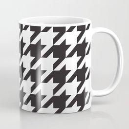 Houndstooth (Black and White) Coffee Mug