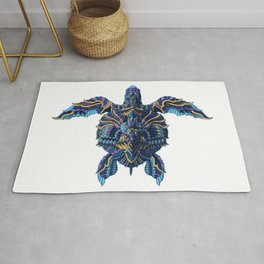 Sea Turtle (Color Version) Rug