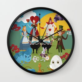 alice in wonderland collection Wall Clock