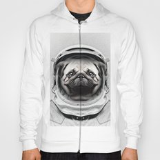 Puggly Pawstrong Astro Dog Hoody