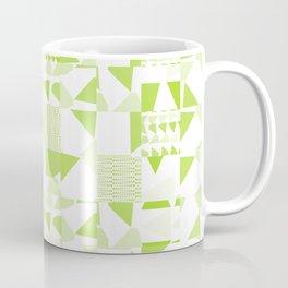 Triangles Patchwork #3 Coffee Mug