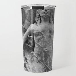 Downtown Statues Travel Mug