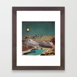 Utopian Biosphere Framed Art Print