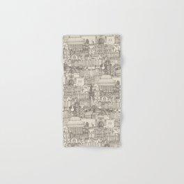 Edinburgh toile natural Hand & Bath Towel