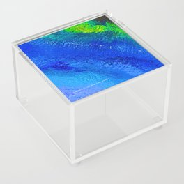 """Riptide #4"" Oil Painting Acrylic Box"