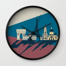 Paris - Cities collection  Wall Clock
