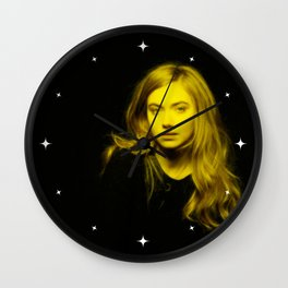 Imogen Puts - Celebrity (Florescent Color Technique) Wall Clock