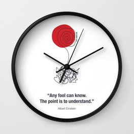 Any Fool Can Know Wall Clock