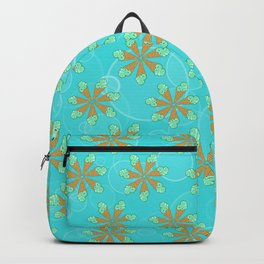 Mint Chip Flowers Backpack