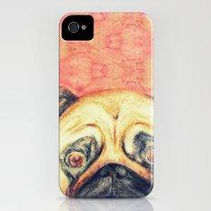 Grunt The Pug Slim Case iPhone (4, 4s)