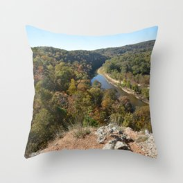 Sparrowhawk Mountain Series, No. 6 Throw Pillow