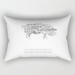 blind Rectangular Pillow