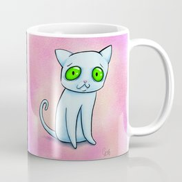 Ghost-cat Coffee Mug