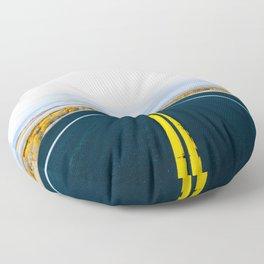 Escape to Antelope Island Floor Pillow