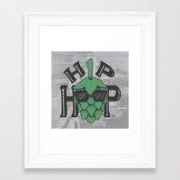 hip hop Framed Art Prints featuring Hip Hop by Deidre Hayden