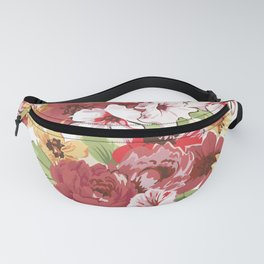 FLORAL PATTERN 7 Fanny Pack
