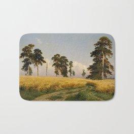 Rye by Ivan Shishkin Bath Mat