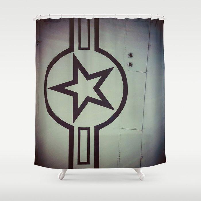 Air Force Insignia Shower Curtain