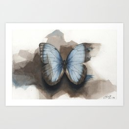 Watercolor study 08 Art Print