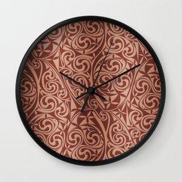 Celtic Warlord copper Wall Clock