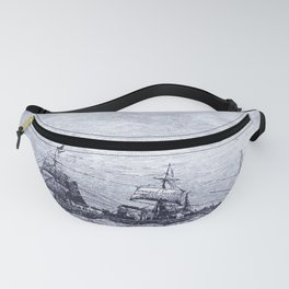 Mastery of Nature by Man Fanny Pack