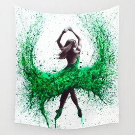 An Emerald Love Wall Tapestry