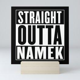 Straight Outta Namek Mini Art Print