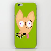 rocky iPhone & iPod Skins featuring Rocky by Designs By Misty Blue (Misty Lemons)