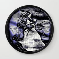 mother Wall Clocks featuring Mother by Christa Bethune Smith