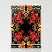 givenchy Stationery Cards featuring Givenchy- Birds Of Paradise by Jacobello