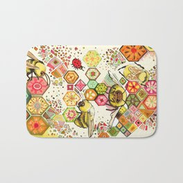 Bees Of Confusion Bath Mat