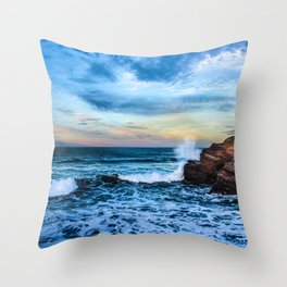 The surf Throw Pillow