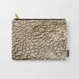 Tree golden textures Carry-All Pouch