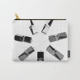 Gives you Wings Black And White Carry-All Pouch