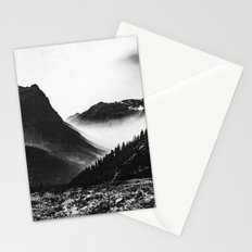 Mountain Valley Glacier National Park Stationery Cards