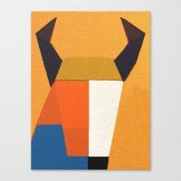 taurus Canvas Prints featuring Taurus by Fernando Vieira
