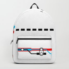 Transportation (Instructions and Code series) Backpack