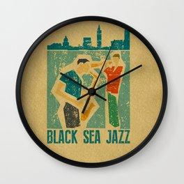 Black Sea Jazz Wall Clock