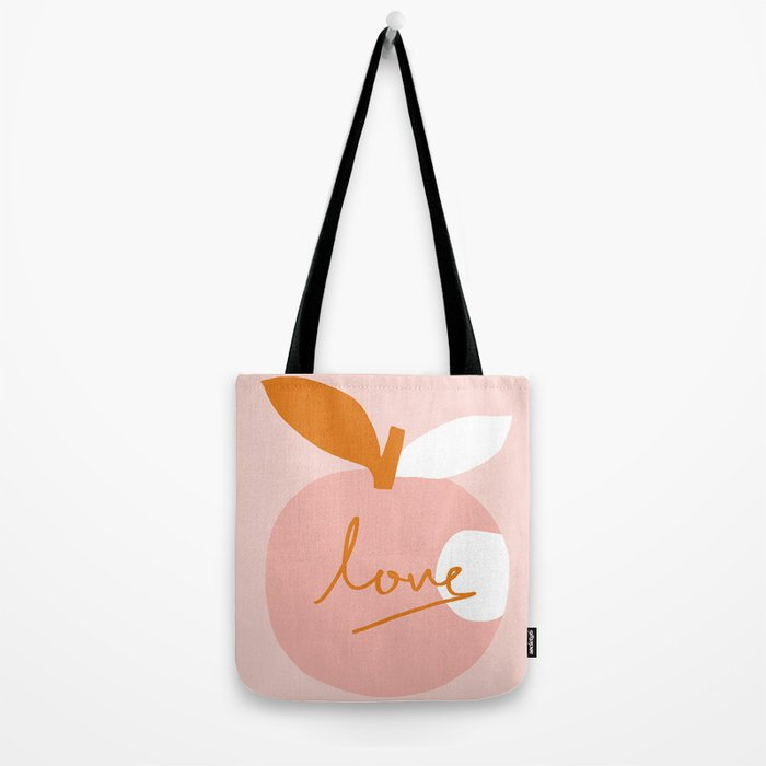 Abstraction_LOVE_BITE Tote Bag