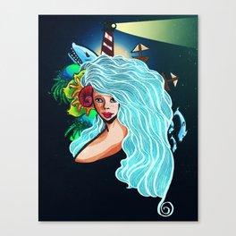 How I Became the Sea Canvas Print