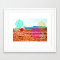 wind Framed Art Prints featuring Wind by Kakel-photography