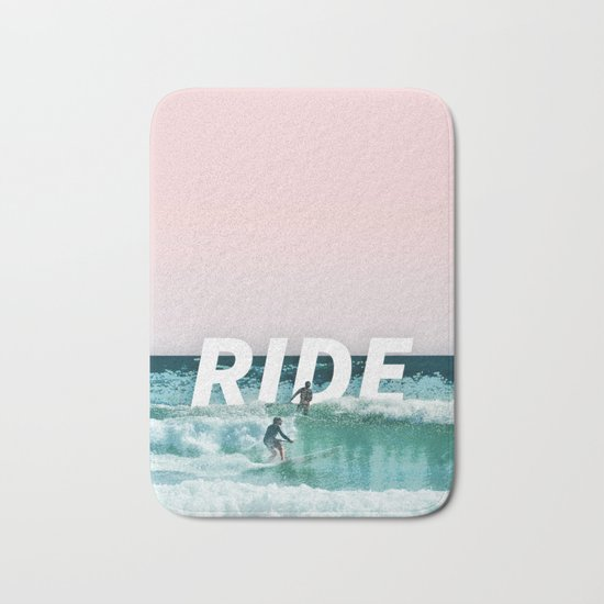 Ride The Waves Bath Mat
