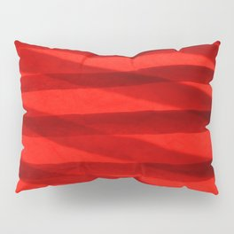 Scarlet Shadows Pillow Sham