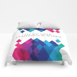 So We Soar Luminous & Wired Comforters