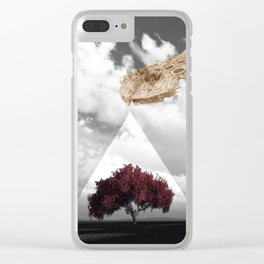 REFRESHMENTS Clear iPhone Case