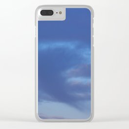 Winter - Morning Touch Clear iPhone Case